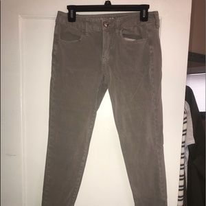 American Eagle Grey Skinny Jeans